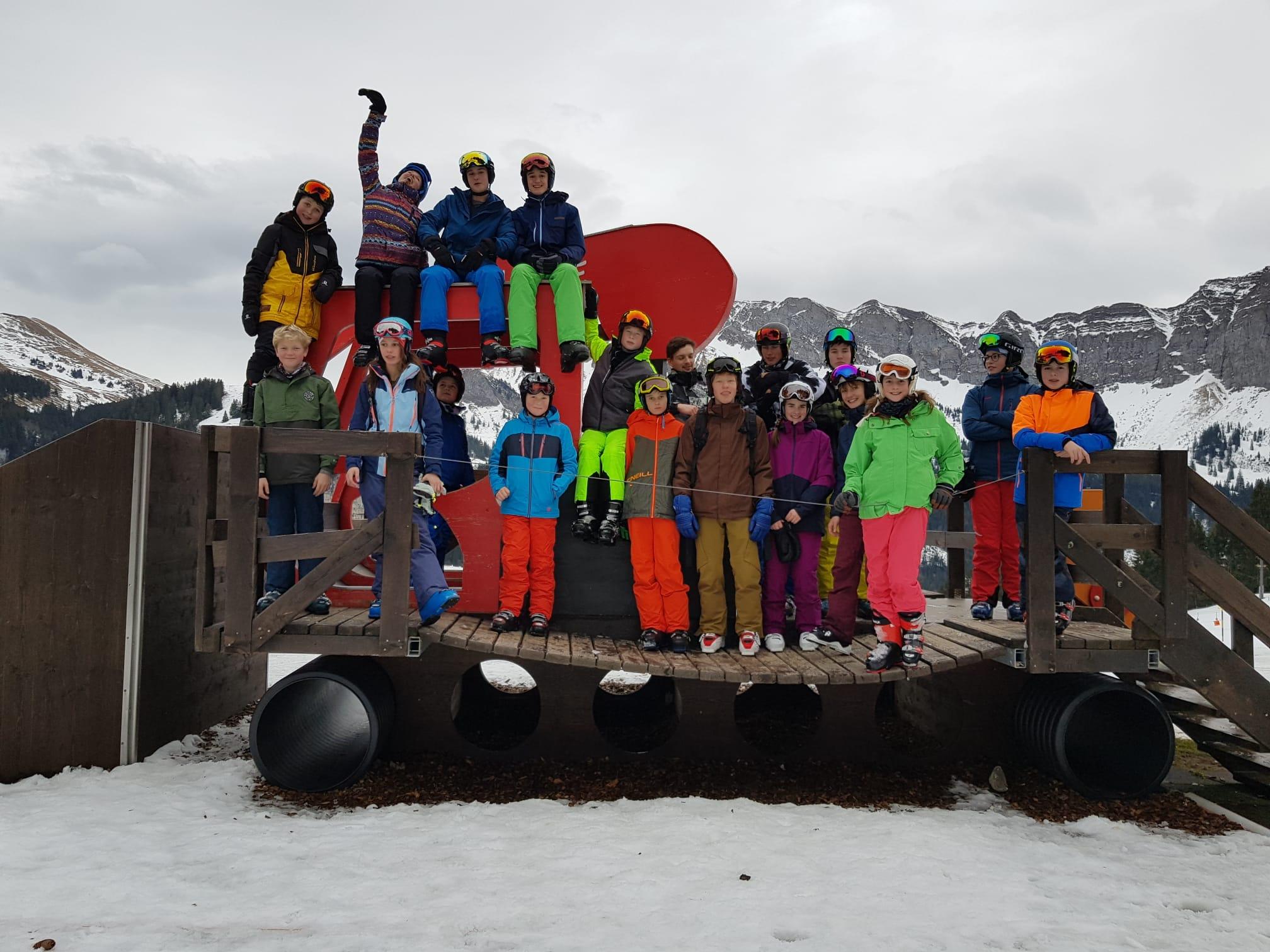 Skitag Juniorenteam 2020