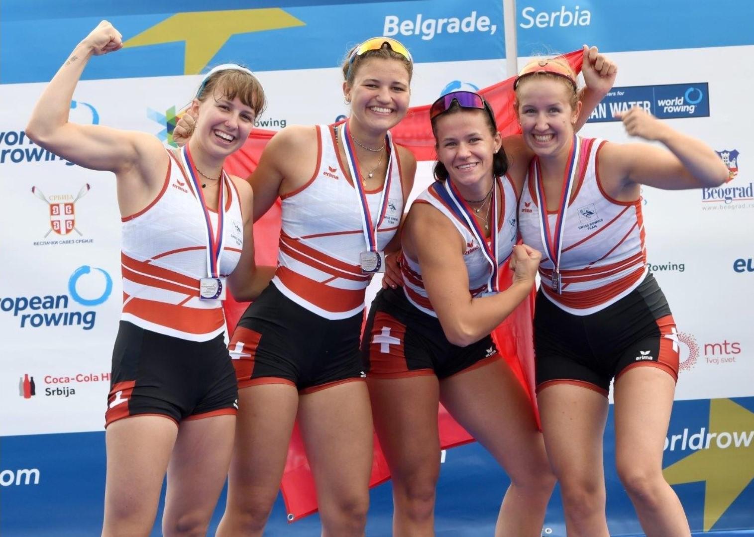 Silber an Junioren EM Belgrad
