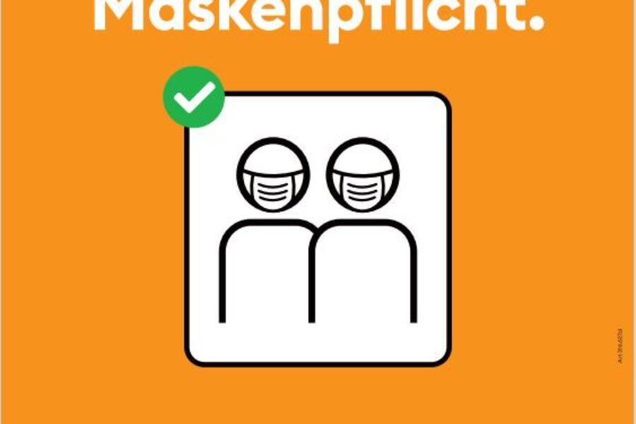 Generelle Maskenpflicht ab 31.10.2020 neu auch in den Booten