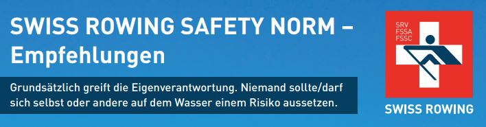SWISS ROWING Safety Norm