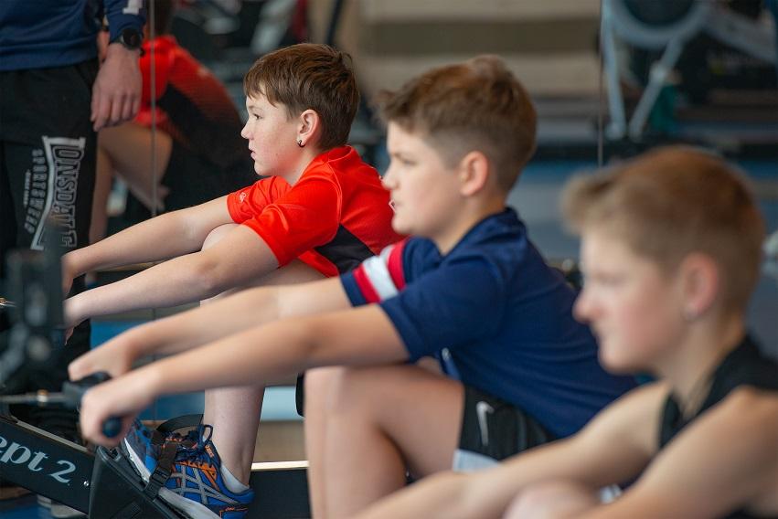 Virtuelle Swiss Rowing Indoors