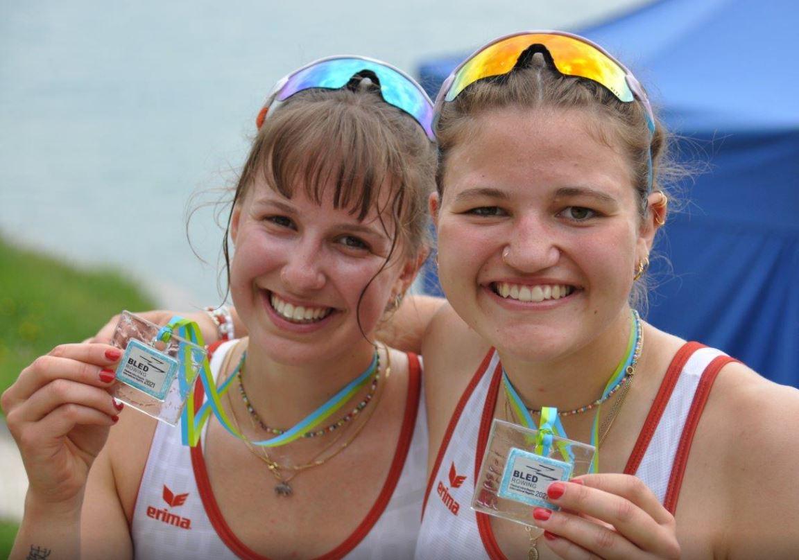 Internationale Regatta in Bled (SLO) – zwei Mal Silber für Alina Berset